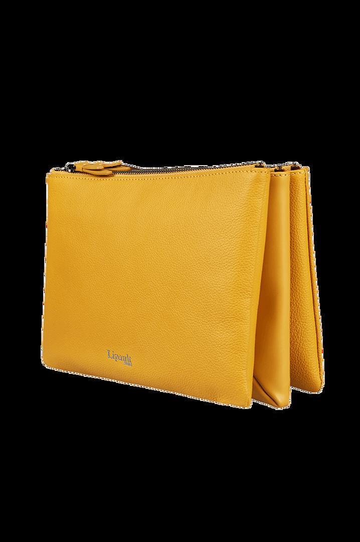 Plume Elegance Handväska Mustard | 4