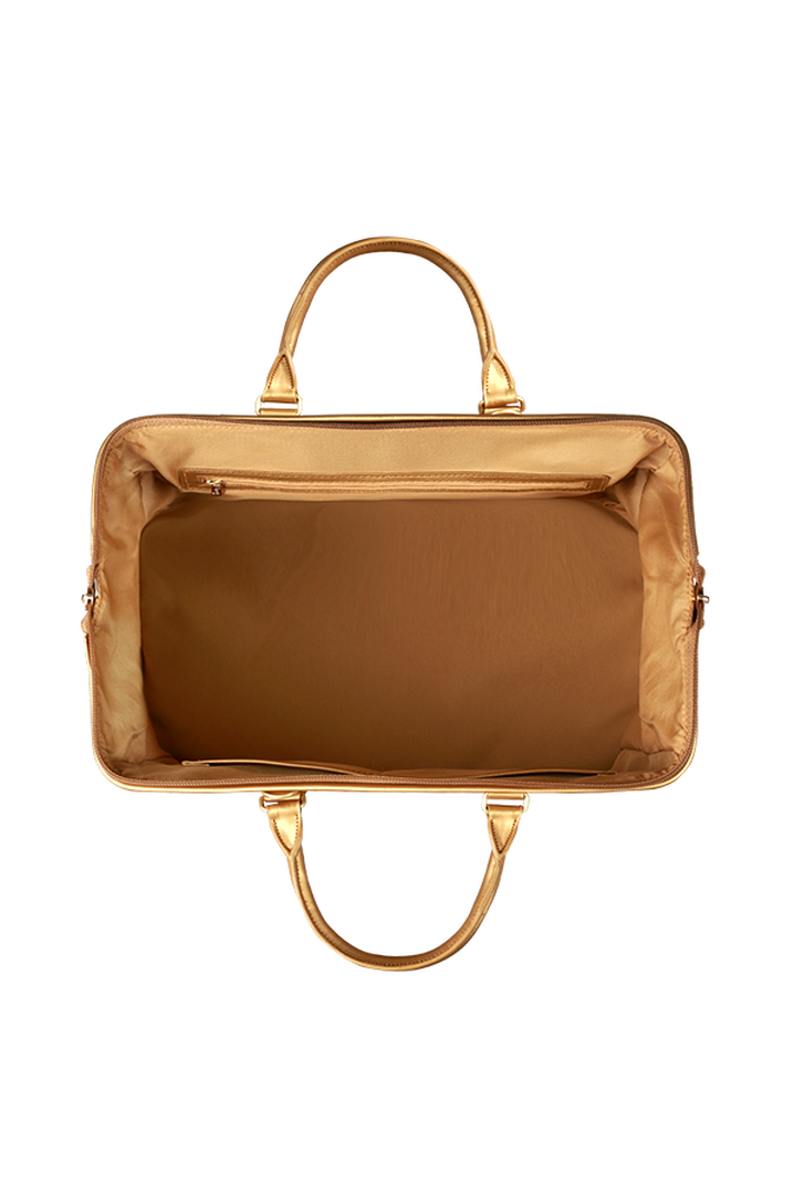 Miss Plume Bowling bag M Dark Gold   2