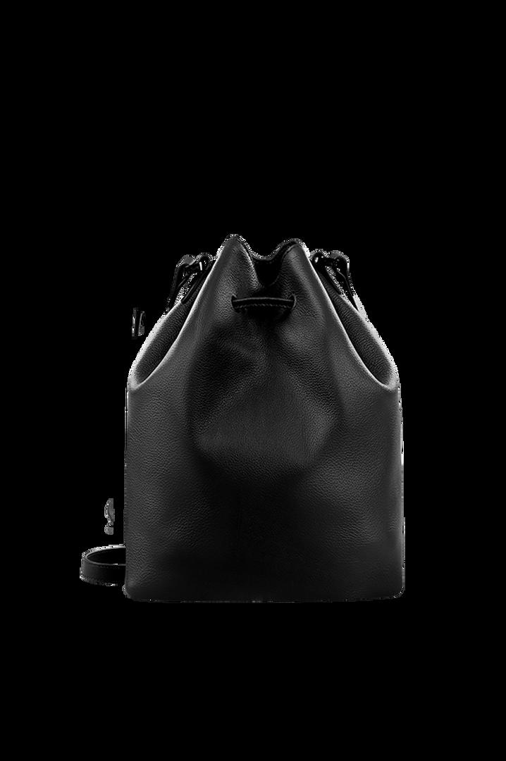 Plume Elegance Bucketväska Black | 2