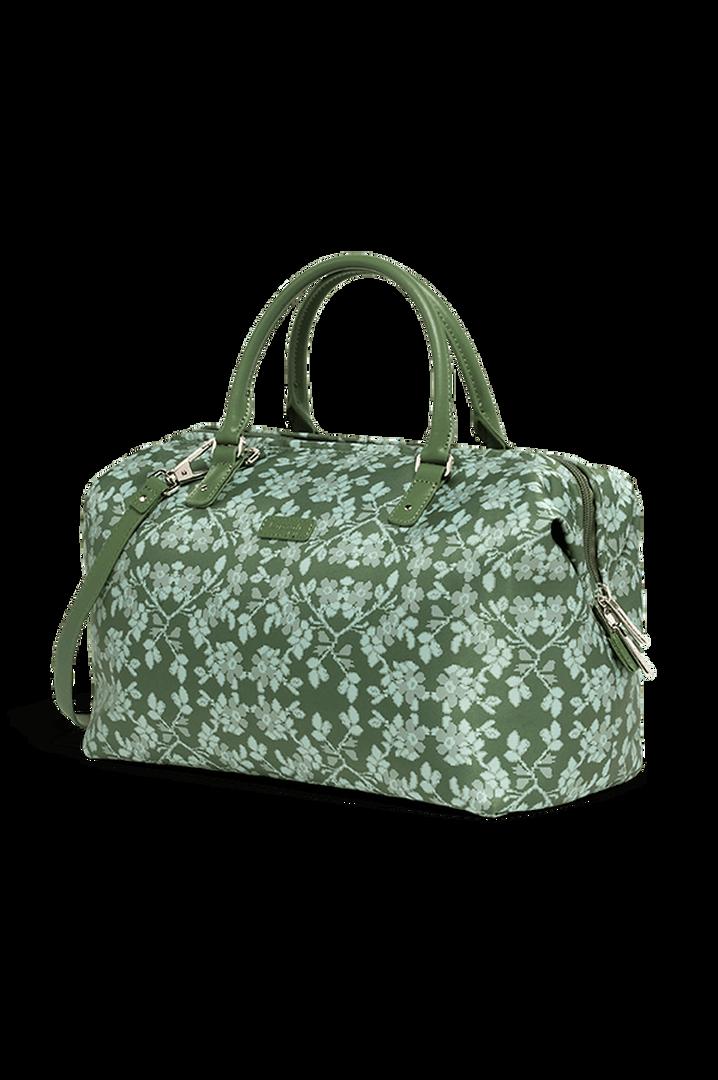 Fall For You Bowling bag M Kaki/Aquagreen/Flowers   4