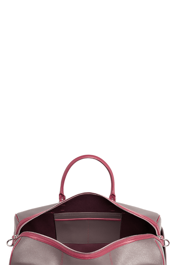 Variation Duffelväska Grey/Raspberry | 2