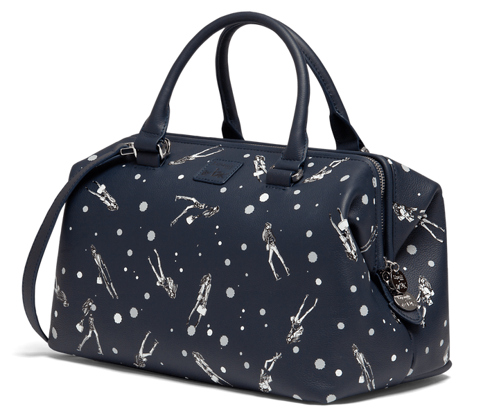 Izak Zenou Collab Bowling bag Pose/Night Blue | 4