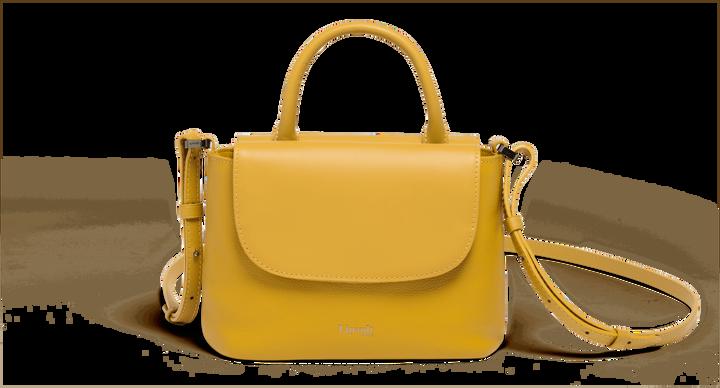 Plume Elegance Handväska Mustard   1