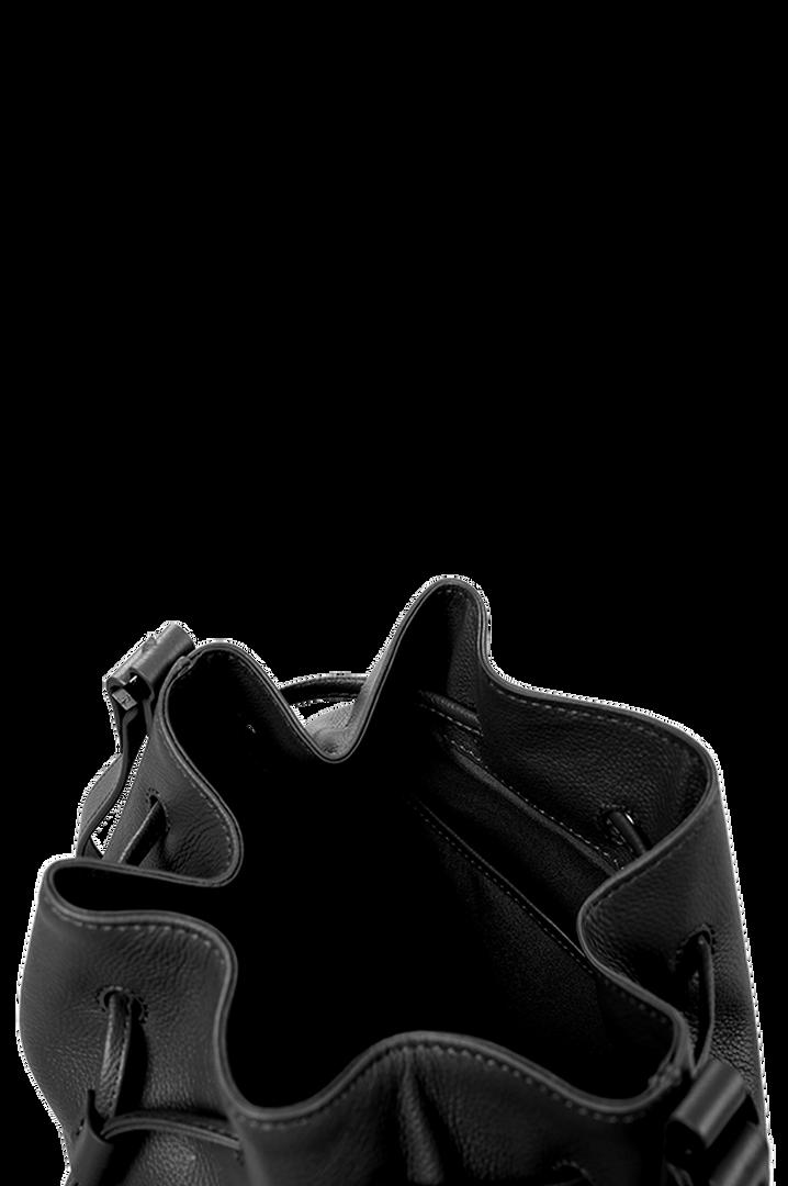 Plume Elegance Bucketväska Black | 4