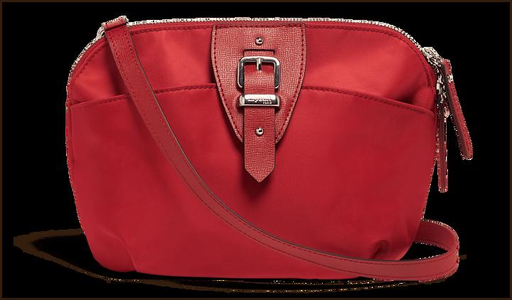 Plume Avenue Axelremsväska  Garnet Red | 1