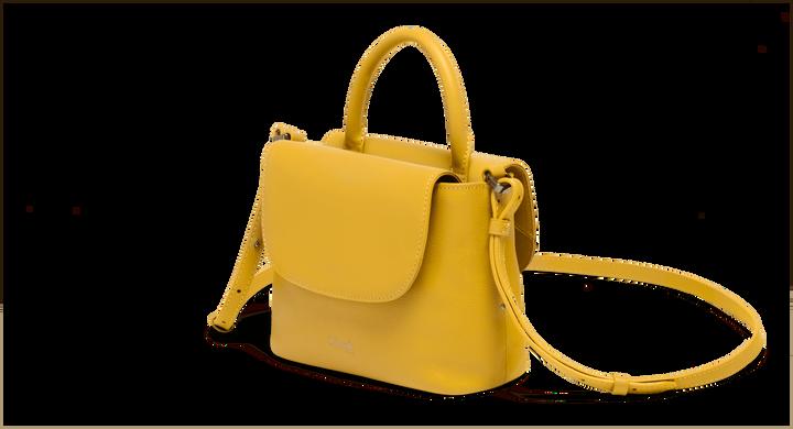 Plume Elegance Handväska Mustard   4