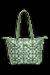 Kaki/Aquagreen/Flowers