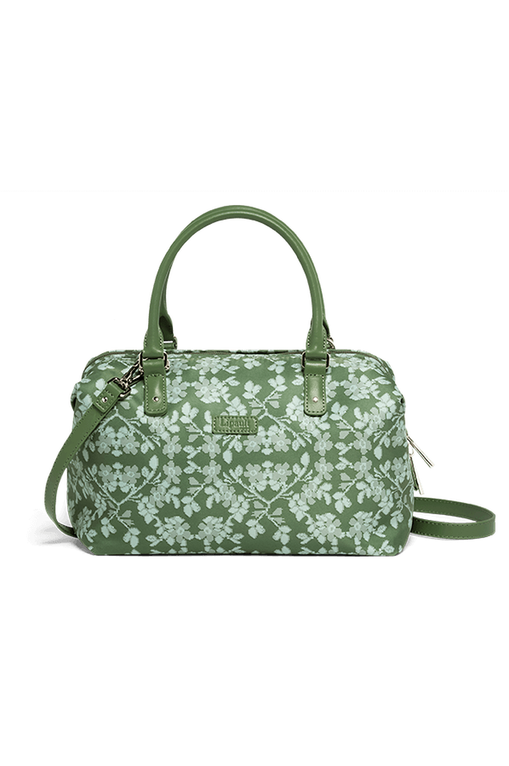 Fall For You Bowling bag S Kaki/Aquagreen/Flowers | 1