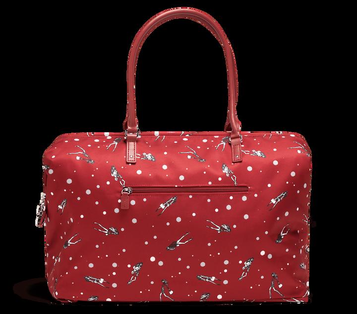 Izak Zenou Collab Weekend Bag M Pose/Garnet Red   2