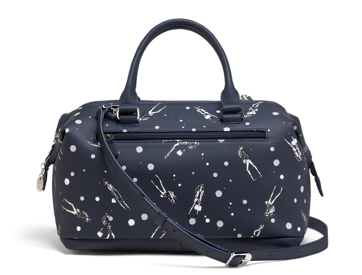 Izak Zenou Collab Bowling bag Pose/Night Blue | 3
