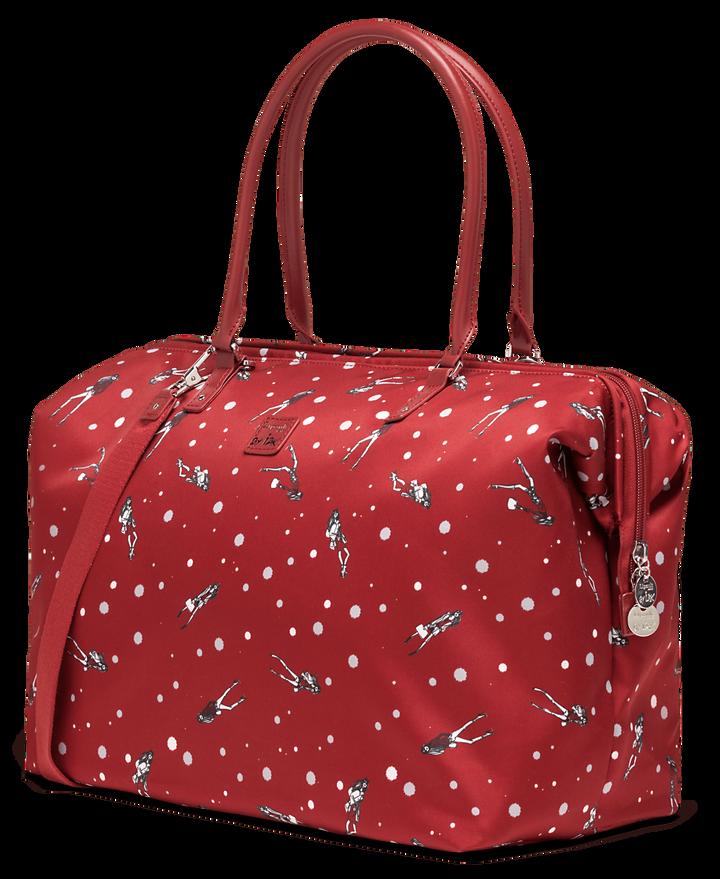 Izak Zenou Collab Weekend Bag M Pose/Garnet Red   3