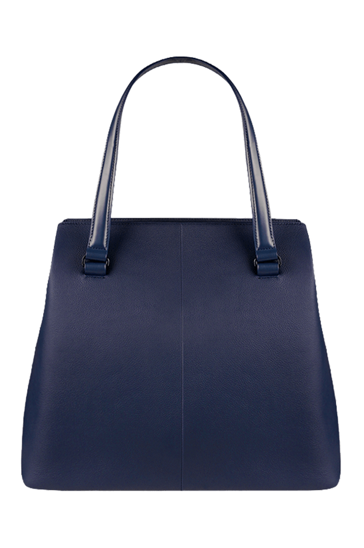 Plume Elegance Shoppingväska L Navy | 2