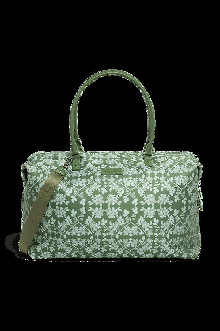 Fall For You Weekend Bag M Kaki/Aquagreen/Flowers   1