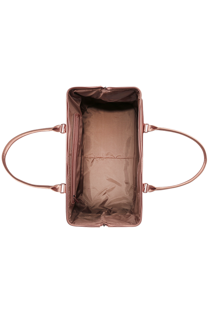 Miss Plume Weekend Bag M Pink Gold | 2