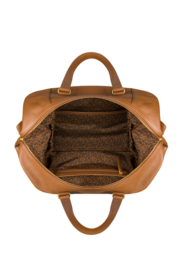 Plume Elegance Weekend Bag Cognac | 2