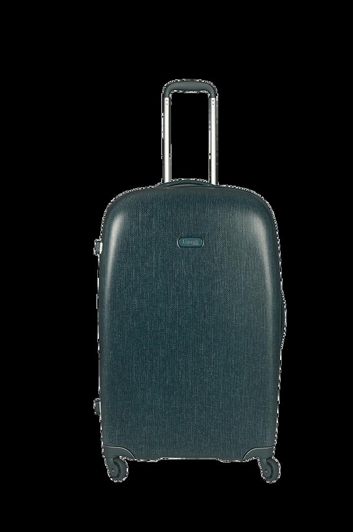 Chic And Plume Expanderbar resväska med 4 hjul Duck Blue   1