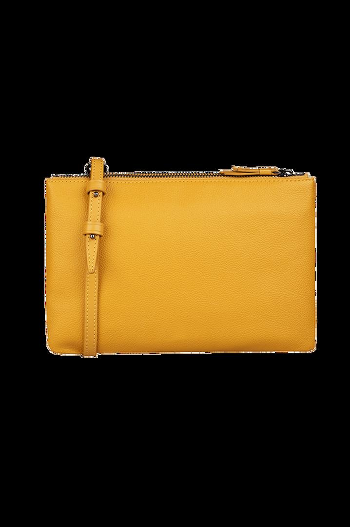 Plume Elegance Handväska Mustard | 3