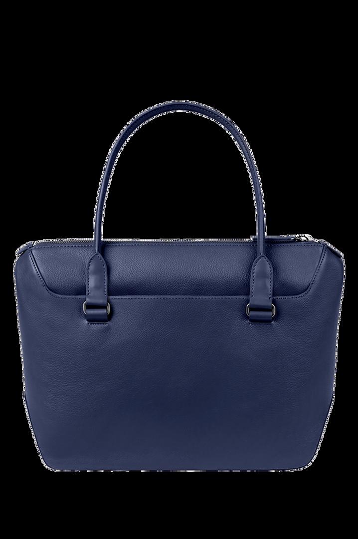 Plume Elegance Shoppingväska Navy | 2