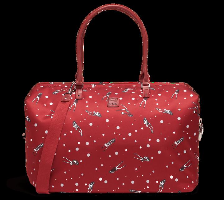 Izak Zenou Collab Weekend Bag M Pose/Garnet Red   1