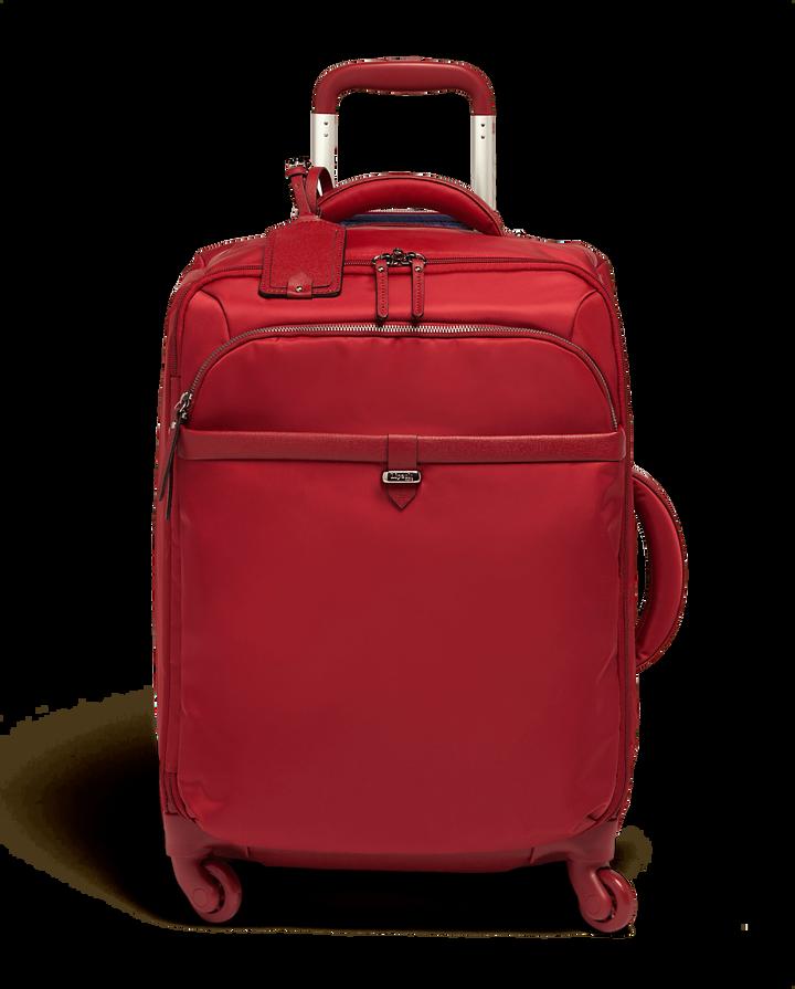 Plume Avenue Resväska med 4 hjul 55cm Garnet Red   1