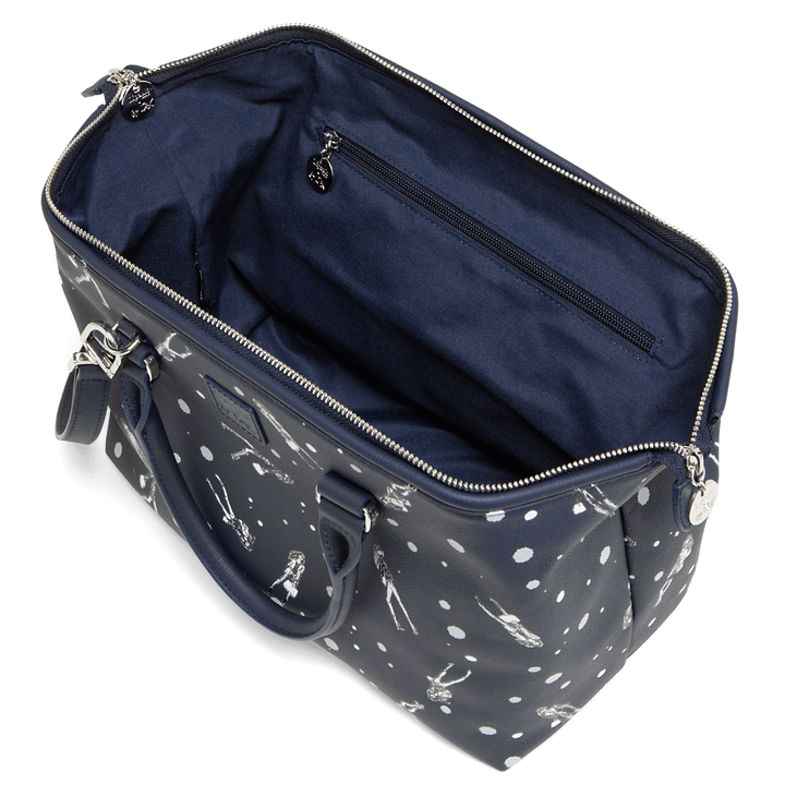 Izak Zenou Collab Bowling bag Pose/Night Blue | 2