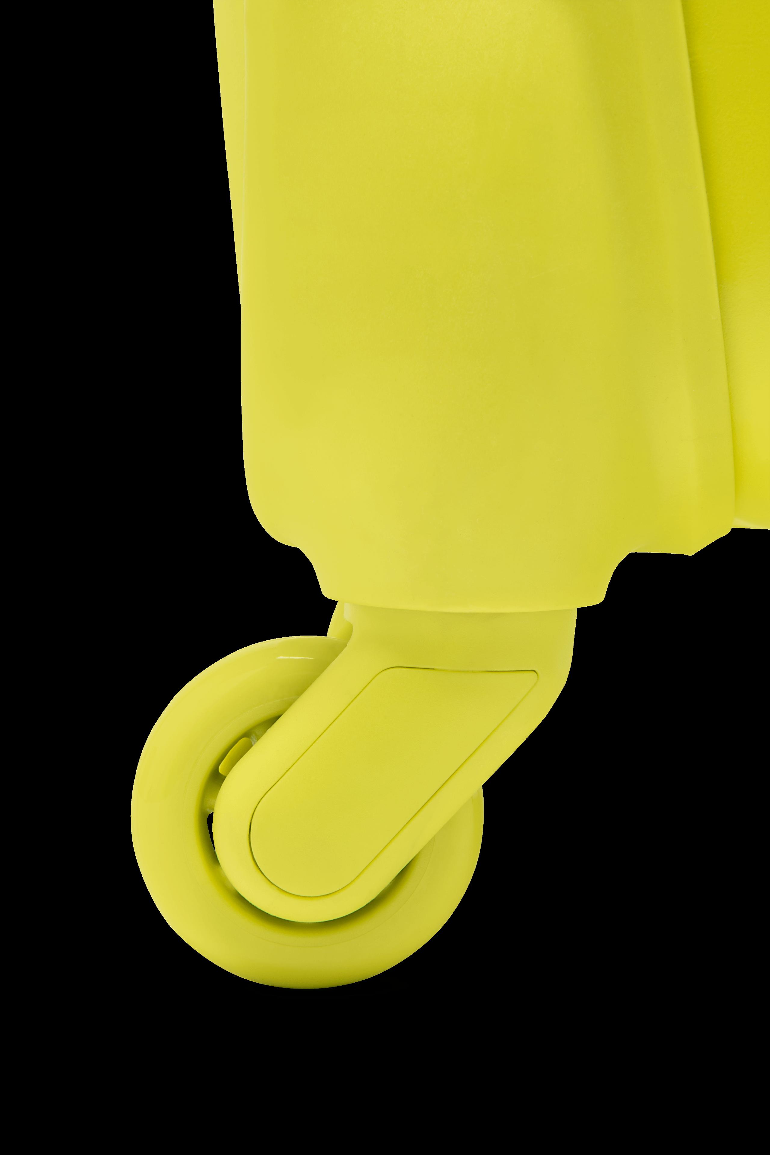 Originale Plume Resväska med 4 hjul 55cm Flash Lemon